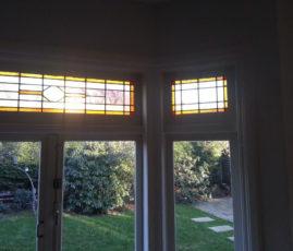 Glas-in-lood-repareren