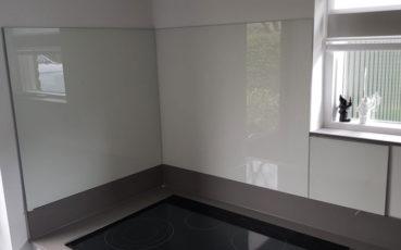 Glas-keukenwand-spatscherm